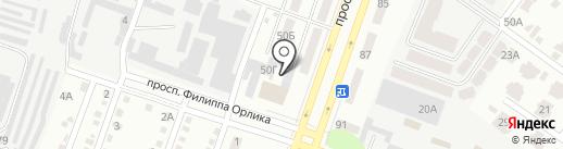 Belluci на карте Днепропетровска