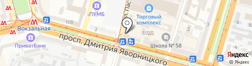 АССОРТИ на карте Днепропетровска