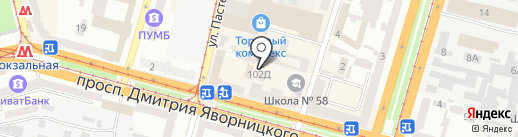 Мари на карте Днепропетровска