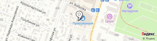 Банк Михайлівський на карте Днепропетровска