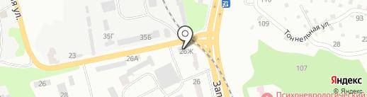 Mega Box на карте Днепропетровска