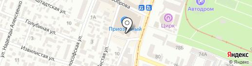 Евросток на карте Днепропетровска
