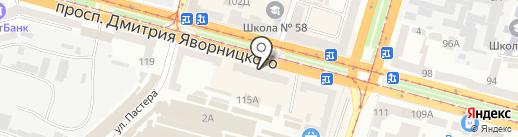 Дочки & сыночки на карте Днепропетровска