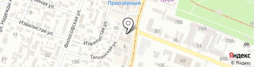 D.P.Line на карте Днепропетровска