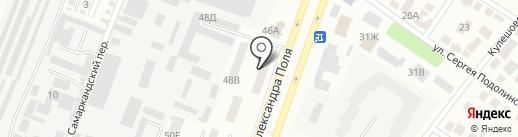 Сказкин дом на карте Днепропетровска