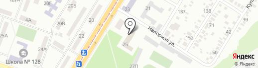 Центр обслуговування платників ДПІ у Бабушкінському районі на карте Днепропетровска