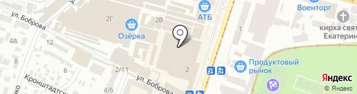 Магазин обоев на карте Днепропетровска