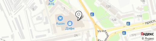 Comfy на карте Днепропетровска