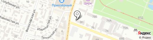 Зелений Світ на карте Днепропетровска