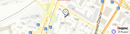 Вам подарки на карте Днепропетровска