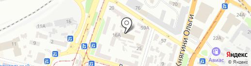 Днепрохим на карте Днепропетровска