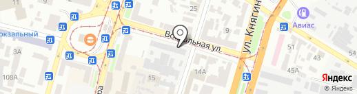 Демич С.В. на карте Днепропетровска