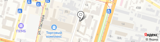 Электроинжиниринг на карте Днепропетровска