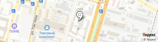 FedEx на карте Днепропетровска