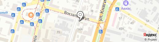 Шинок на карте Днепропетровска