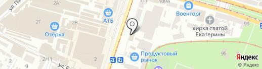 ЕСпариК на карте Днепропетровска