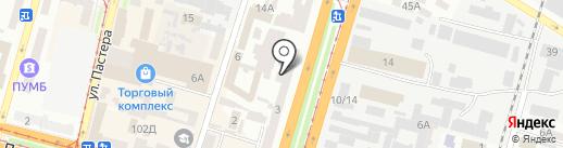 ES на карте Днепропетровска