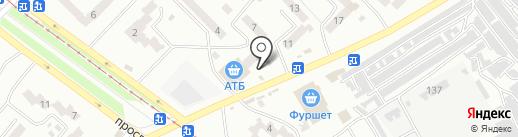 Мелітопольські курчата на карте Днепропетровска