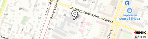 Бизнес-Профи, ЧП на карте Днепропетровска
