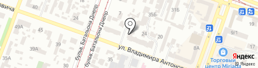 Стимул-С на карте Днепропетровска