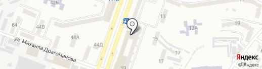Шарикоff на карте Днепропетровска