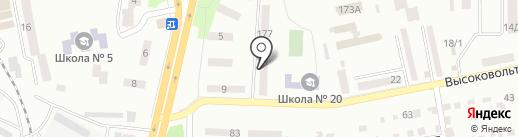 SPORTS PEOPLE на карте Днепропетровска