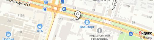 RITO на карте Днепропетровска