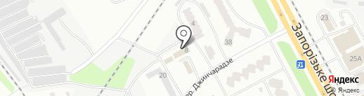 Общество технического надзора ДИЭКС на карте Днепропетровска