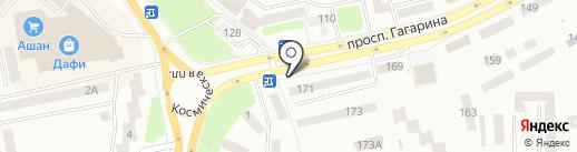 Гран При на карте Днепропетровска