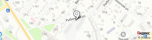 НОВА ПОШТА на карте Днепропетровска