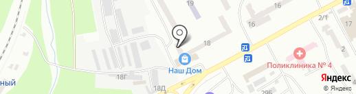 Почтовое отделение №40 на карте Днепропетровска