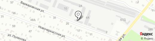 Днепр на карте Днепропетровска