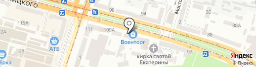 Mr. & Mrs. Estetista на карте Днепропетровска