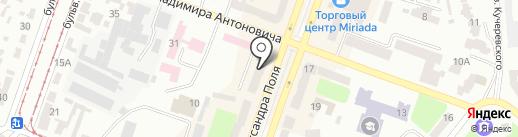 Интертоп на карте Днепропетровска