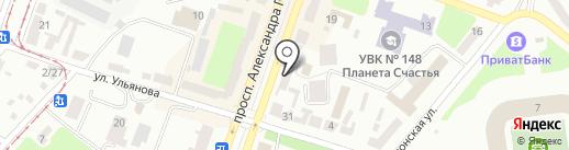 Финская Мебель на карте Днепропетровска