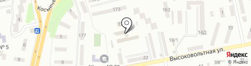 Центр обслуговування платників ДПІ у Жовтневому районі на карте Днепропетровска