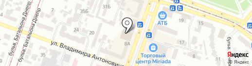 Master Zoo на карте Днепропетровска