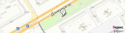 Эконом на карте Днепропетровска