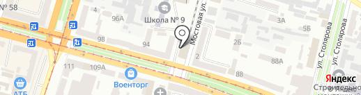 Замки-Двери на карте Днепропетровска