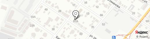 Дніпропетровський міський спортивно-технічний клуб товариства сприяння обороні України на карте Днепропетровска