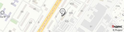 Управління ДСНС України в Дніпропетровській області на карте Днепропетровска