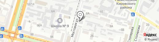 Джайпур на карте Днепропетровска