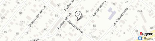 Мир ребенка на карте Днепропетровска
