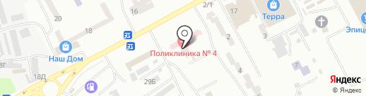 Обласна стоматологічна поліклініка на карте Днепропетровска