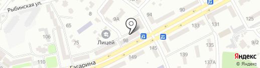 Moonlight на карте Днепропетровска