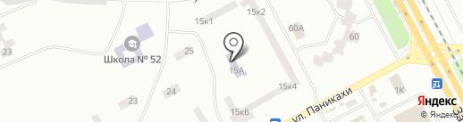 Дошкільний навчальний заклад №123, Казковий на карте Днепропетровска