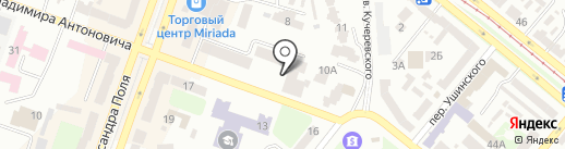 Косметический кабинет на карте Днепропетровска