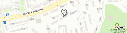 Ин.Яз.+ на карте Днепропетровска