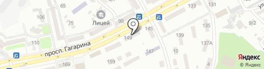 Зоомагазин на карте Днепропетровска