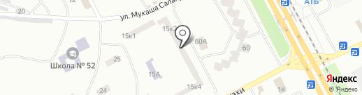 Фотоателье на карте Днепропетровска